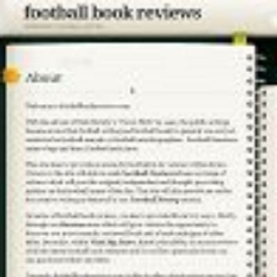 Book Review Everything A Needs To About Football By Simeon De La Torre And Brown by Football Book Review Footybookreview
