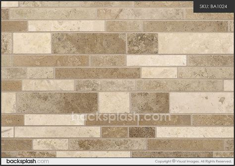 travertine subway mix backsplash tile travertine subway mix backsplash tile