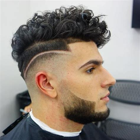 Comb Over With Curly Hair | curly hairstyles for men