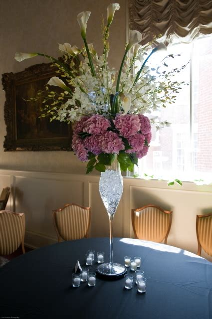 Wedding Reception Flowers by Hydrangea Centerpiece Ideas Reception Project Wedding