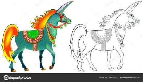 imagenes de unicornios blanco y negro patr 243 n colores blanco negro para colorear dibujo unicornio