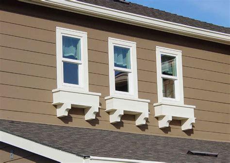 Window Corbels Exterior Home Design Faux Wood Workshop