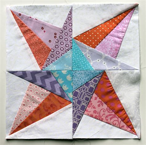free printable paper piecing quilt blocks paper piecing monday pastel style wombat quilts