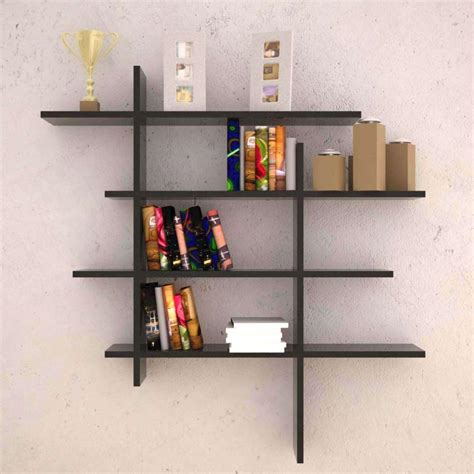 wall bookshelves decorative wall shelves in the modern interior best