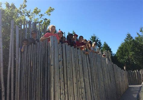 appleby college students visit crawford lake conservation
