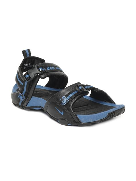 nike sport sandals buy nike black air embark sports sandals 323