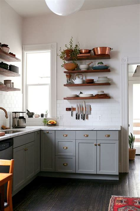 small kitchen shelves ideas wood floating shelves kitchen ideas trends4us