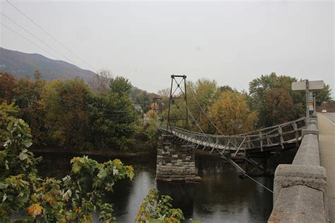 swinging bridge va best places to see fall colors in the blue ridge mountains