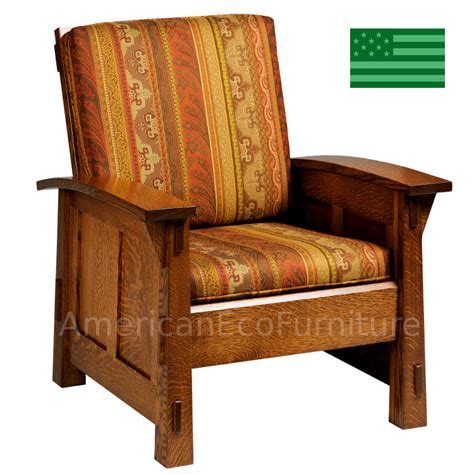 Recliners Made In America by Amish Mission Viejo Chair Solid Wood Made In Usa