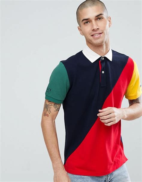 Zalora Colourblock Polo color block rugby rugs ideas