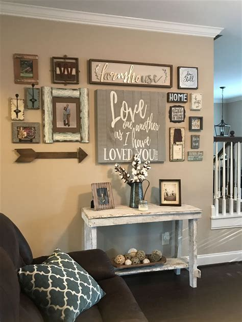 collage wall ranch house decor room wall decor