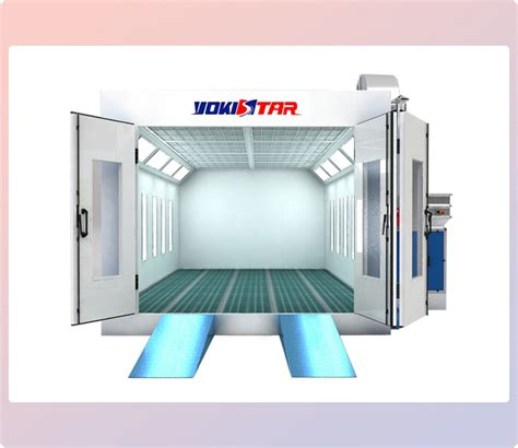 model car tech paint booth design click for larger view dry filter spray booth and garage spray booth factory in