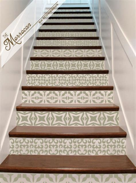Stair Riser Decor by Best 25 Tiled Staircase Ideas On