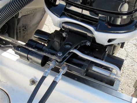 electric boat steering mercury verado joystick control ready for 2013 boats