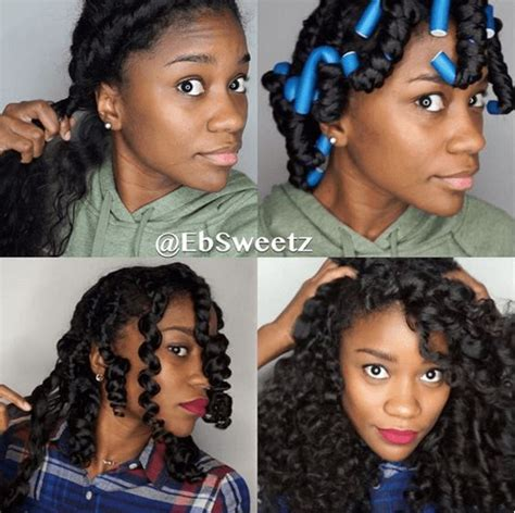 25 best ideas about flexi rods on pinterest perm rods braid curl hair with flexi rods flexirods on long hair