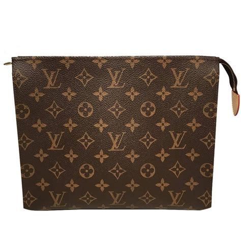Vuitton Square louis vuitton square monogram zippered pouch for sale at 1stdibs