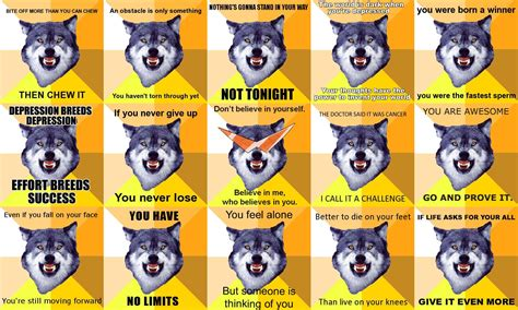 Courage Wolf Meme - image 880 courage wolf know your meme