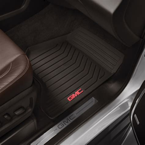 Floor Mats For Gmc by 2015 Yukon Floor Mats Front Set All Weather Cocoa Shopchevyparts