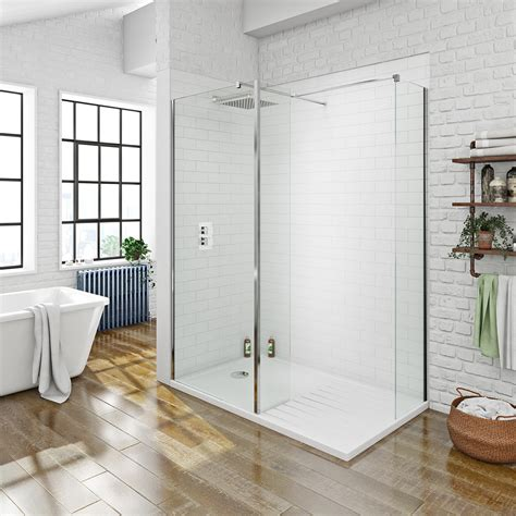 walk in shower mode luxury 8mm walk in shower enclosure with tray
