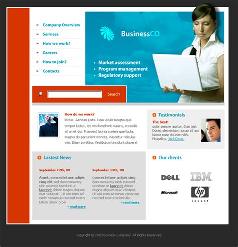 Computer Terminology Html Template 3229 Computers Technology Website Templates Computer Consulting Website Template