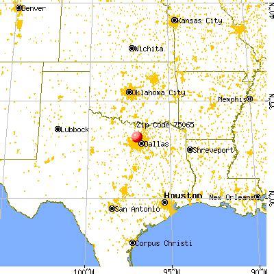75065 zip code (hickory creek, texas) profile homes