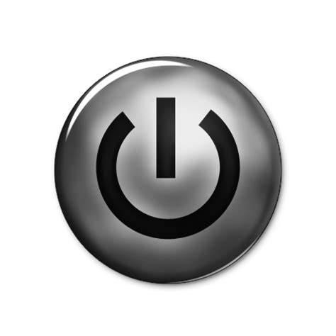 Glossy Power Button Icon Set Power Button Icon Style 1 021300 187 Icons Etc