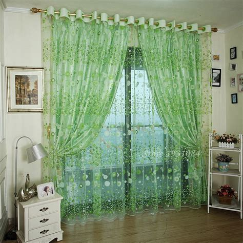 Sheer Green Curtains Compare Prices On Green Sheer Curtains Shopping Buy Low Price Green Sheer Curtains At