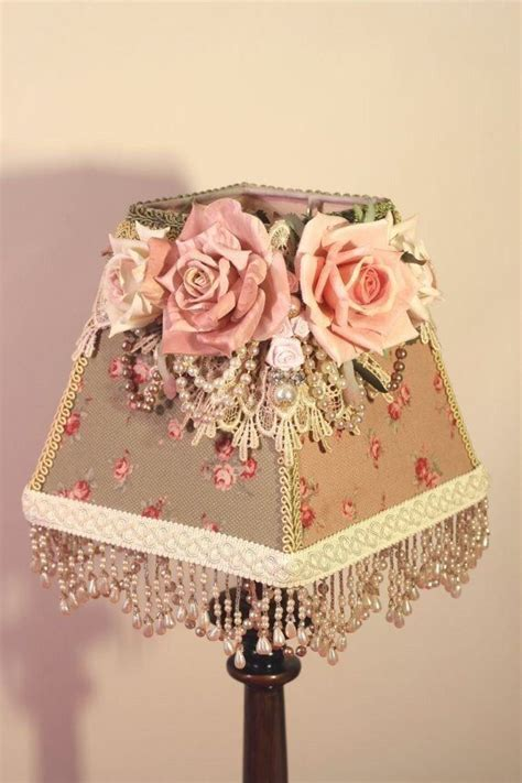 shabby chic lshade 137 best images about светильники on diy