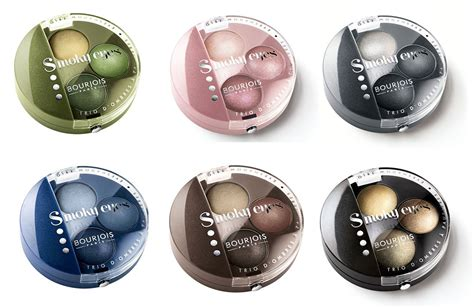 Bourjois Smoky Trio Eyeshadow bourjois smoky trio eyeshadow collection makeup for