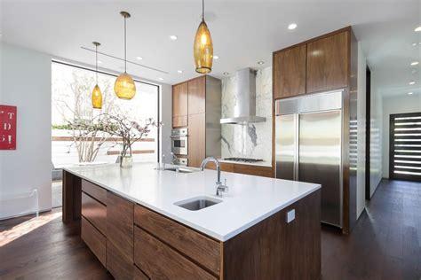 White Quartz Countertops Chicago Modern Kitchen Countertops