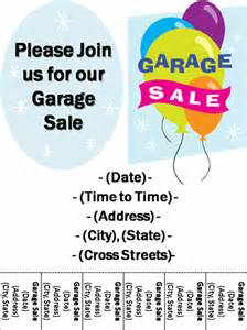 garage sale flyer template pin garage sale flyer template on