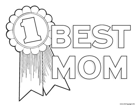 coloring pages number 1 mom worlds best mom mothers day best mom number 1 coloring