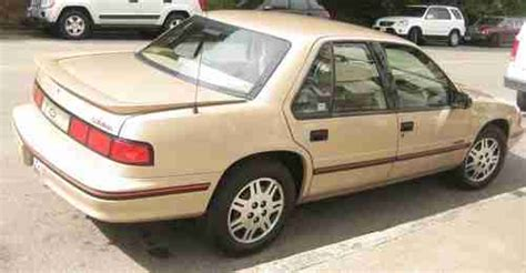 how to fix cars 1993 chevrolet lumina electronic valve timing sell used 1993 chevrolet lumina euro sedan 4 door 3 1l low origional miles 54k one owner in san
