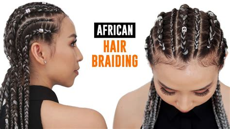 i want to see hair galarry on braids getting my hair braided for the first time youtube