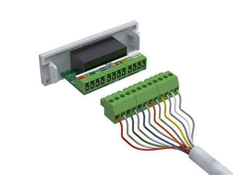 socket cable colours tc2 wall mount faceplate packages vision pro av products