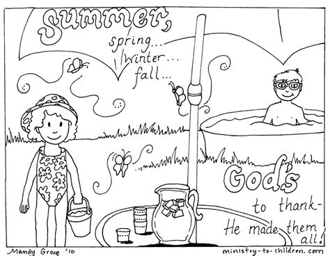 coloring pages free printable summer coloring pages for