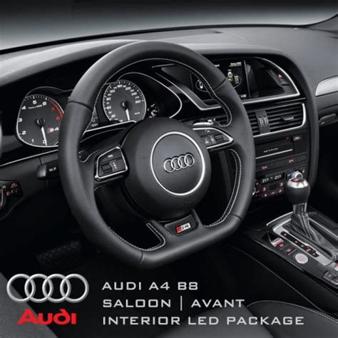 Audi B8 Interior by Audi A4 B8 Saloon Avant Complete Interior Led Pack