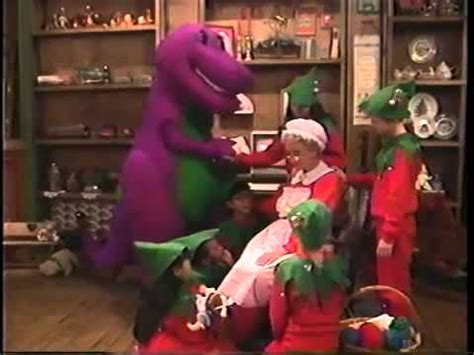 barney and the backyard gang waiting for santa dvd barney the backyard gang waiting for santa part 3
