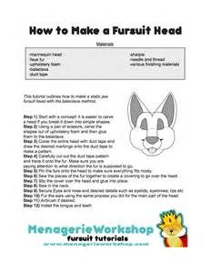 how to make a fursuit head menagerie workshop