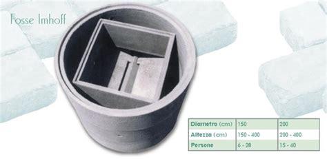 vasche biologiche prezzi fosse biologiche tipo imhoff in cemento manufatti in