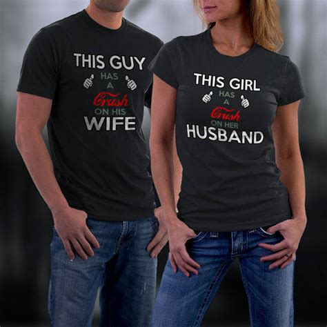 Customized Matching T Shirts For Couples Couples T Shirt Shirts From