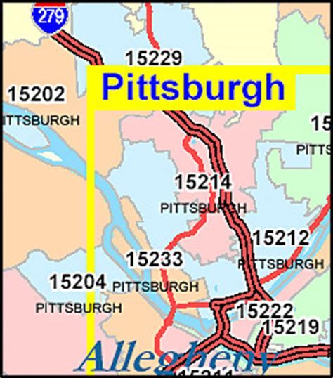 zip code map western pa pennsylvania zip code map including county maps