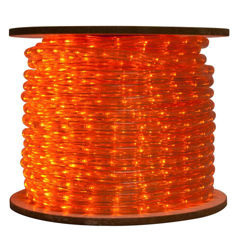 150 commercial bulk led rope light reel amber