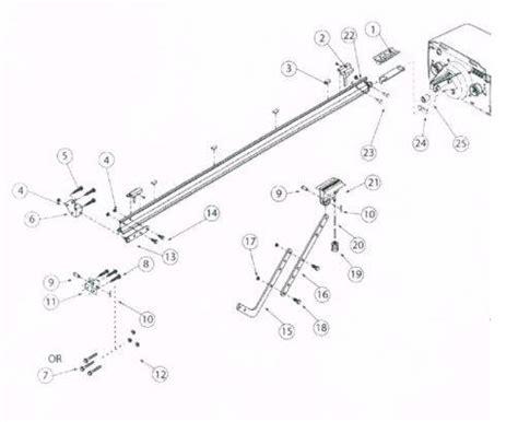 genie garage door opener parts list genie ac drive rail parts