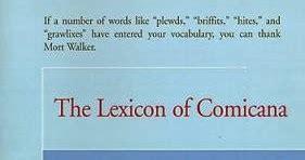 the lexicon of comicana kleefeld on comics lexicon of comicana review