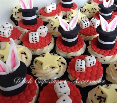 Cups Cake Magic magic cupcakes rabbit in hat cupcakes dice cupcakes d lish cupcakes hats