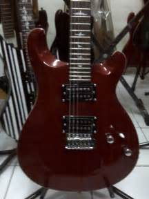 Gitar Listrik Prs Hitam Custom gitar prs inlay custom murah dheton