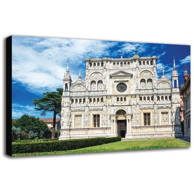 leroy merlin pavia quadro su tela pavia certosa 90x135 prezzi e offerte