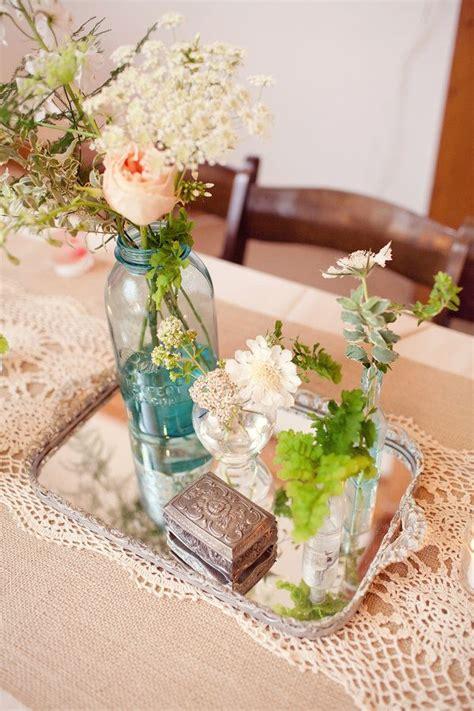 vintage centerpieces vintage centerpiece decor vintage items jars flower