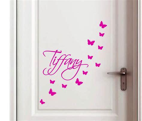 personalised custom name boys girls bedroom door sign